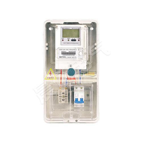 PCBOX-DS01單相一表位電表箱