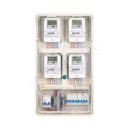PCBOX-DS04單相四表位電表箱