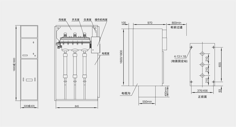 XGN15-12箱式固定交流金屬封閉開關設備詳情3.jpg