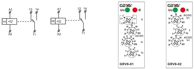 電壓監控繼電器接線圖
