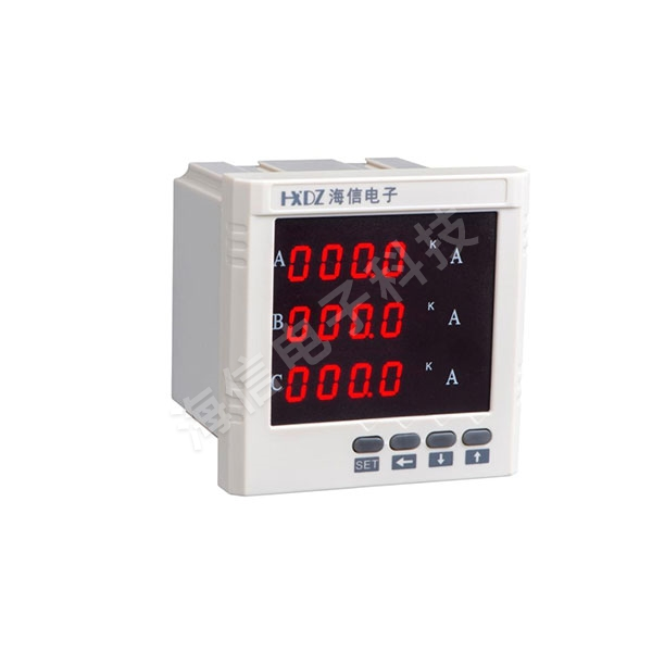 智能單相三相電流表和電壓表