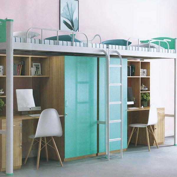 二連2人位中梯組合公寓床木柜ET-ZM2202