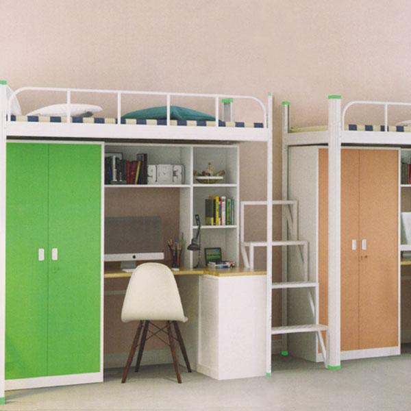 三連3人位中梯組合公寓床木柜ET-ZM3305