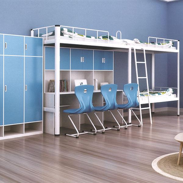 二連3人位側梯組合公寓床木柜ET-ZM2301