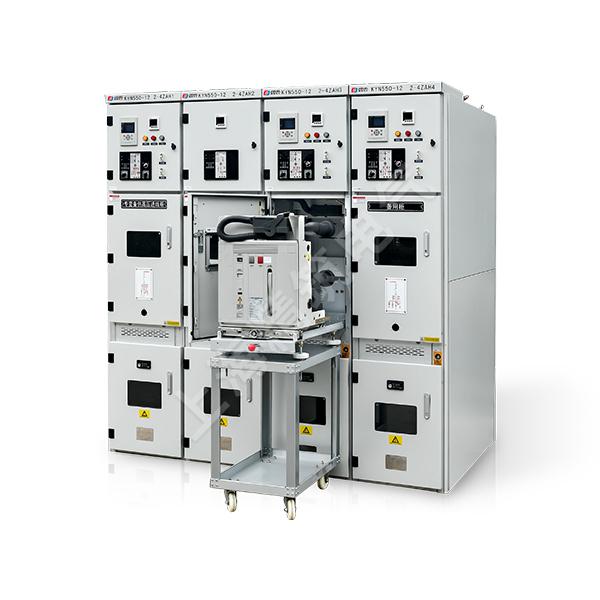 KYN550-12户内铠装移开式交流金属封闭开关设备