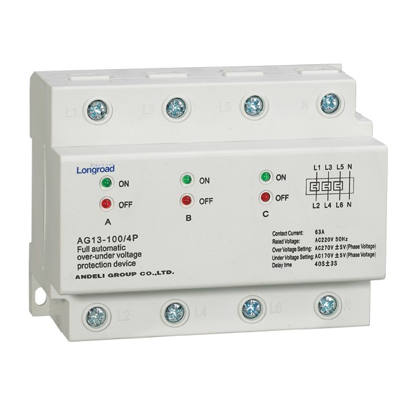 - Overvoltage and Undervoltage Protection Device