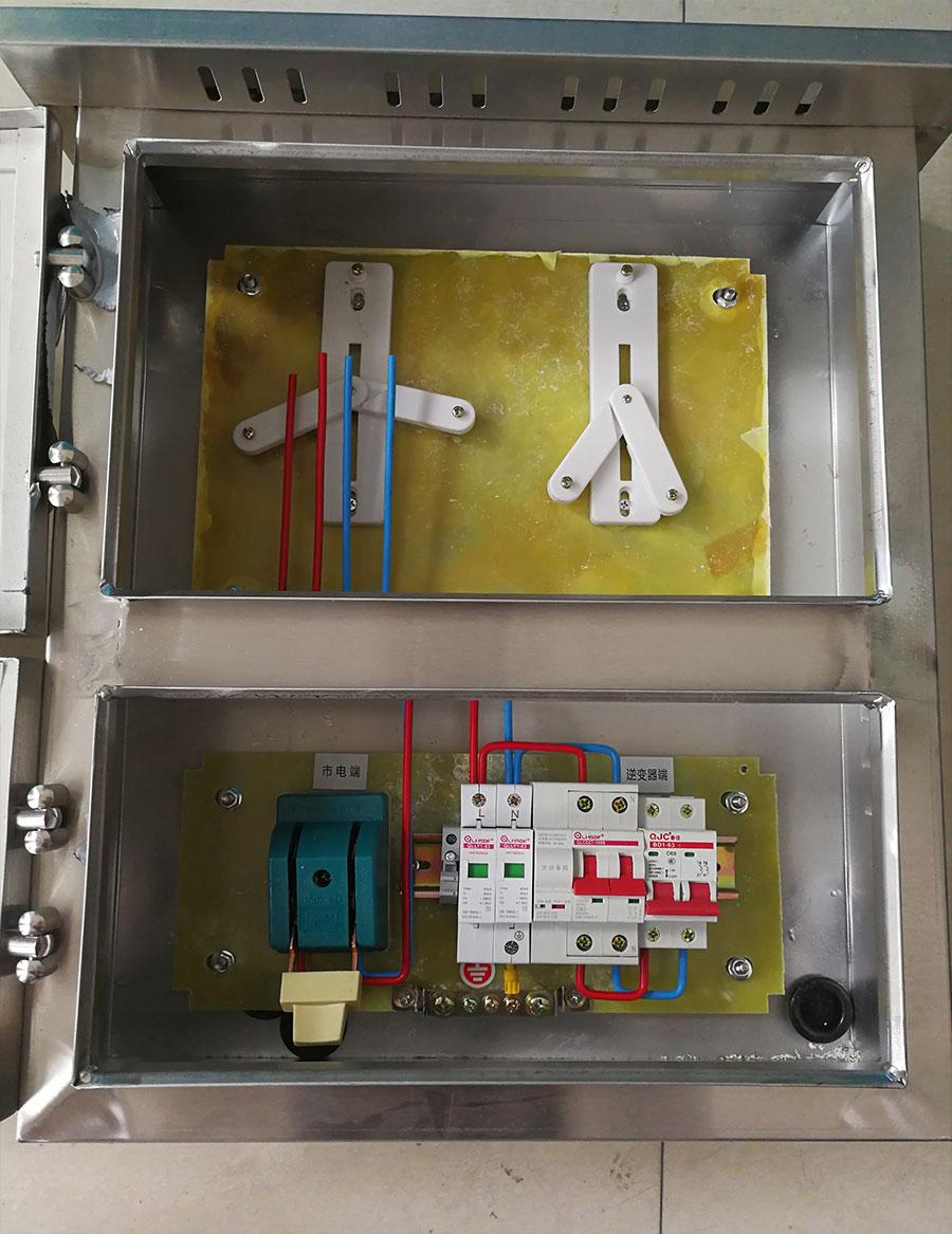 不銹鋼單相帶表位5-8KW光伏并網箱-絕緣底板.jpg