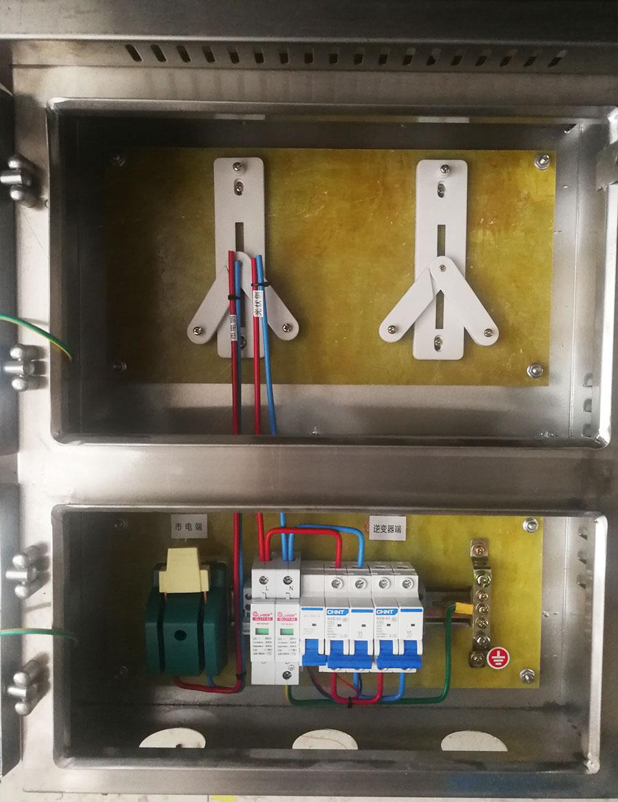 不銹鋼單相5-8KW帶表位光伏并未網箱-過欠壓脫扣器.jpg