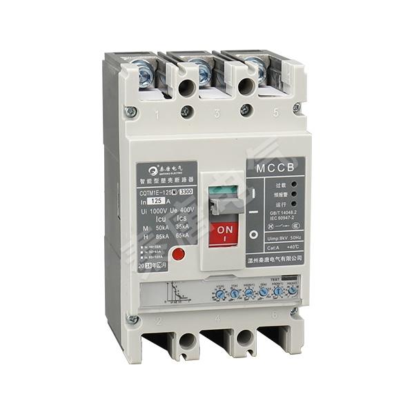 CQTM1E-125塑料外殼式漏電斷路器