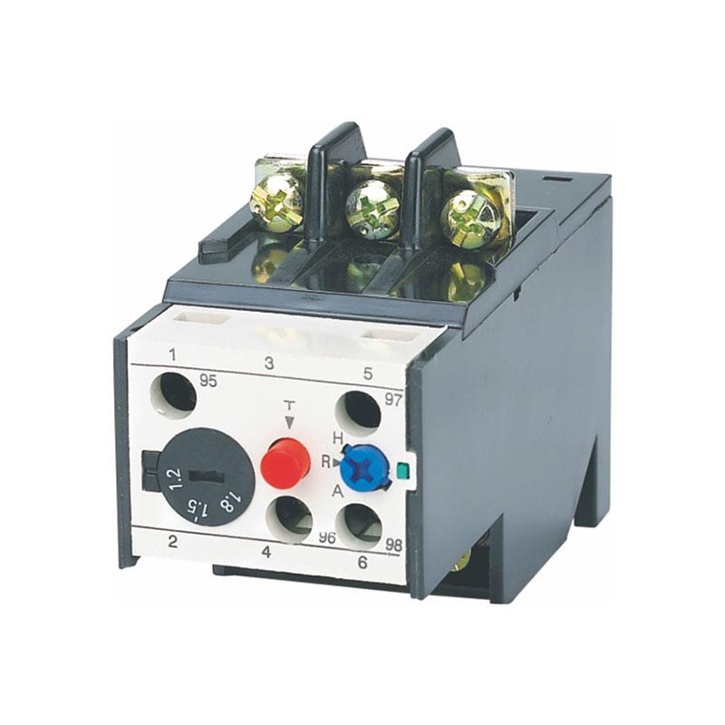 JR20雙金屬片熱過載繼電器