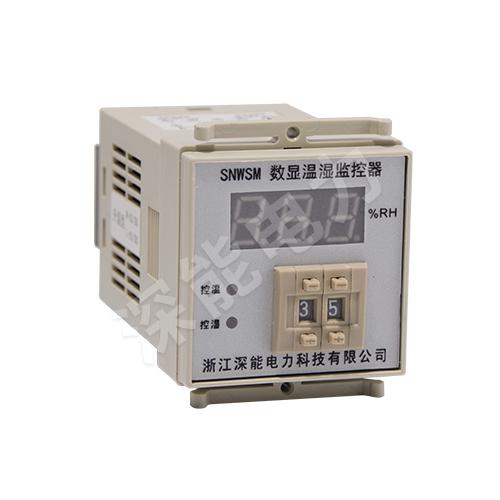 SNWSM撥碼溫濕度控制器