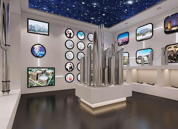 天力久田不锈钢水管展厅展示