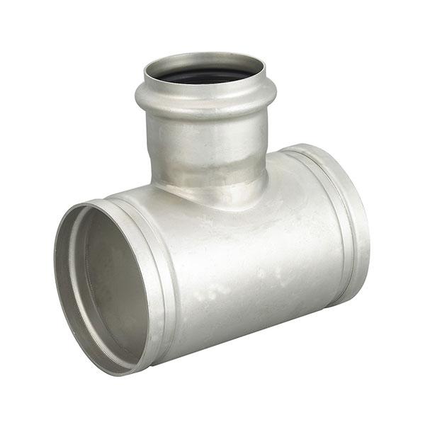 溝槽卡壓式 304不銹鋼三通接頭