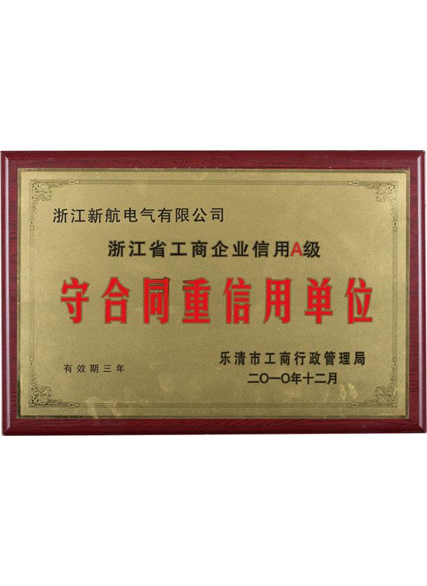 2010年度守合同重信用單位