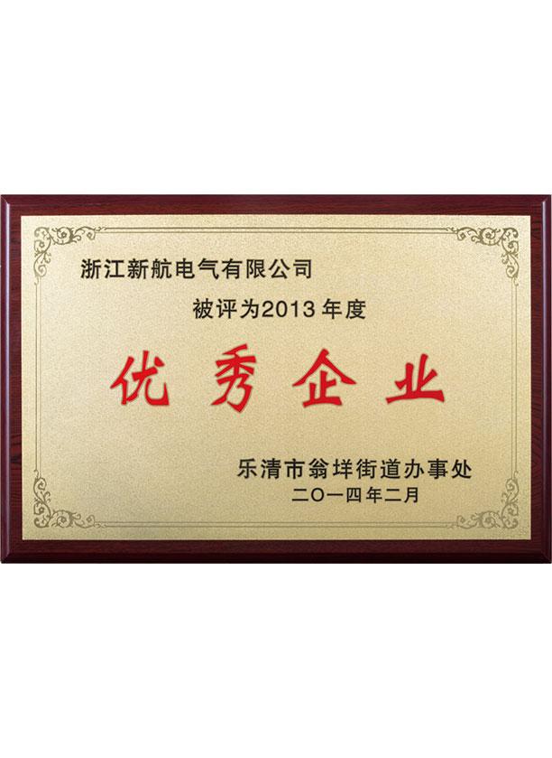 2013年度優秀企業