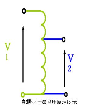 自耦變壓器降壓原理圖