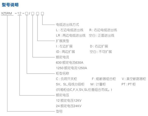XZS-RM6-12全絕緣充氣式環網開關設備系列詳情.jpg