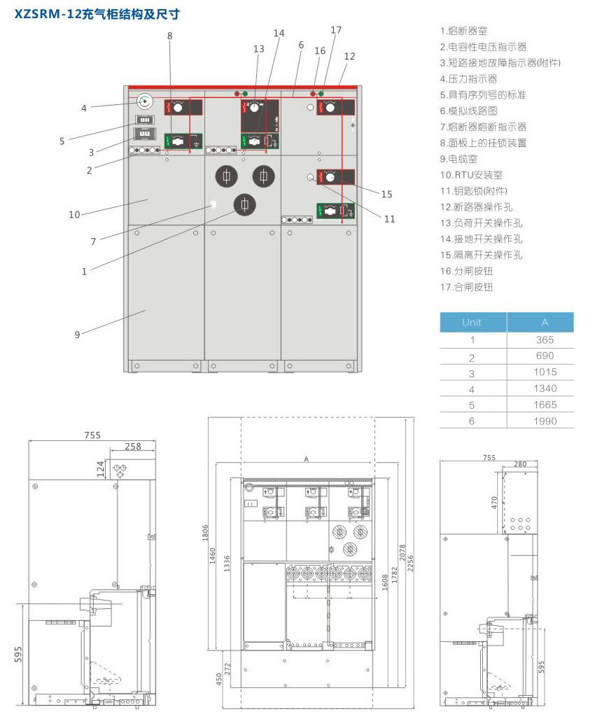 XZS-RM6-12全絕緣充氣式環網開關設備系列詳情2.jpg