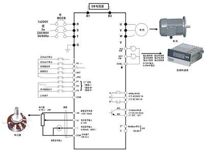 智能照明系统接线图1