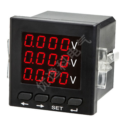 三相電壓數顯表