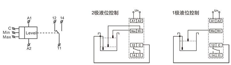 脉冲继电器接线图