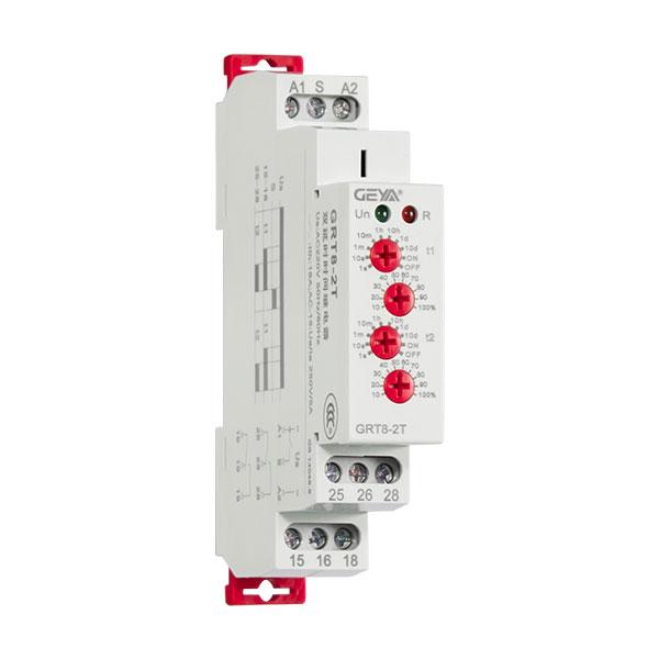 GRT8-2T双延时型时间继电器