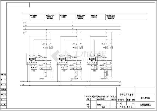 防爆控制箱线路接线图