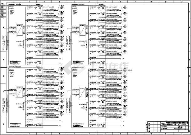 防爆配电箱接线图3