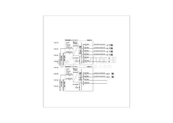 防爆配电箱接线图2