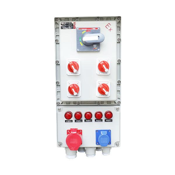 BXX52系列防爆检修电源插座防爆检修箱(ⅡB、ⅡC、户内、户外)