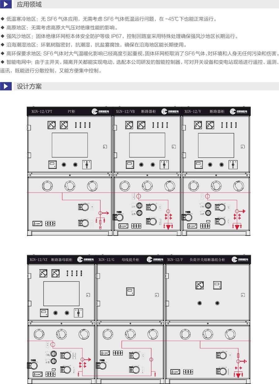 XGN-12智能固體絕緣柜設計方案