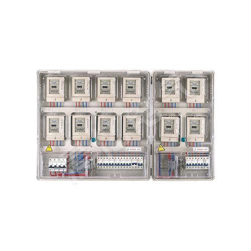 PCBOX-DU12單相十二表位電表箱