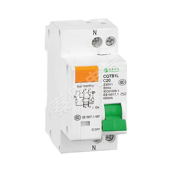 CQTB1L-63小型漏電斷路器