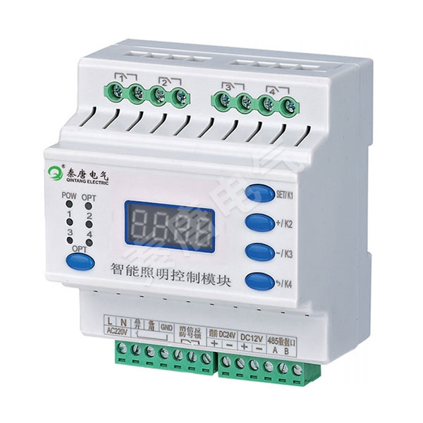CQT-0416A/20A 4路智能照明控制模塊