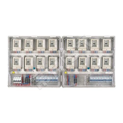 LG-PCBOX-DU16单相十六表位电表箱