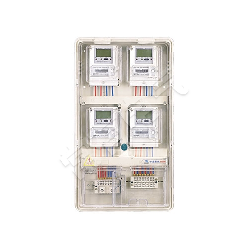 LG-PCBOX-DS04单相四表位电表箱