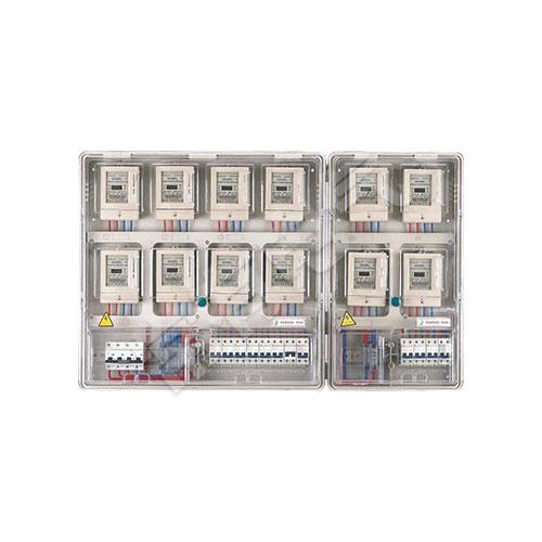 LG-PCBOX-DU12单相十二表位电表箱